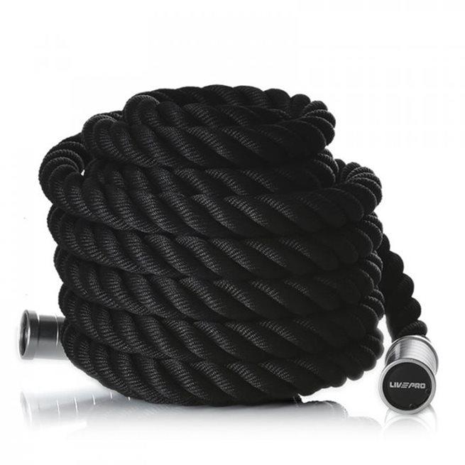 Aluminium Handle Battle Rope