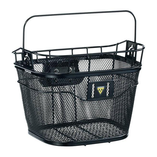 Basket Front QuickClick, korg, svart
