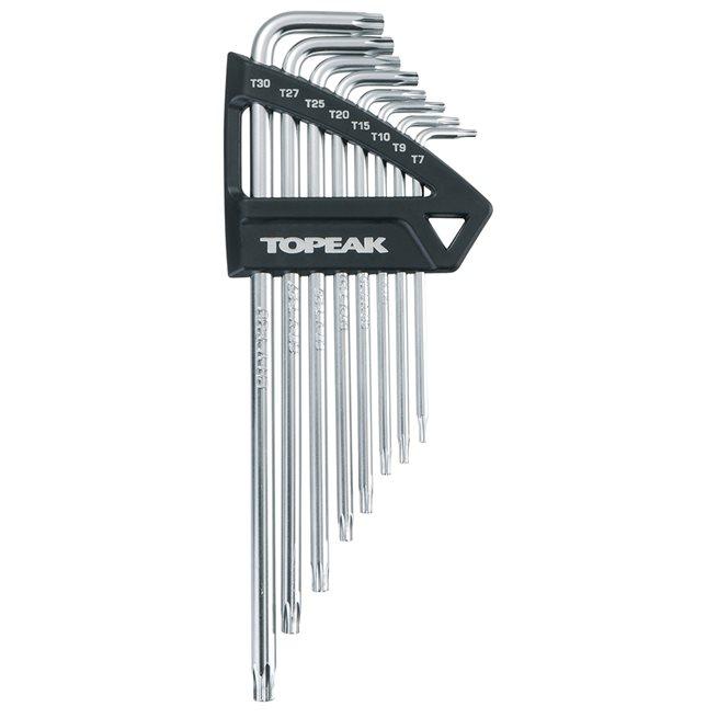 Torxnyckelset, T7/T9/T10/T15/T20/T25/T27/T30