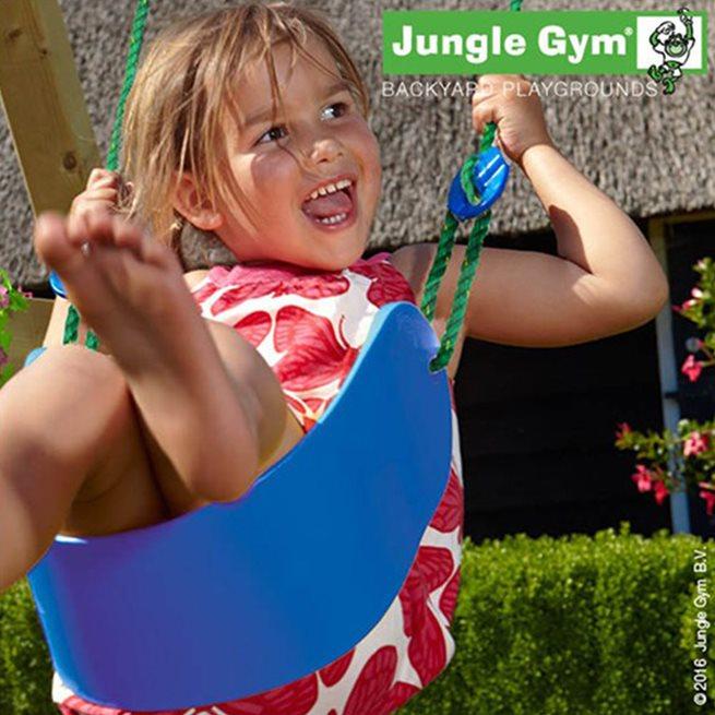 Jungle Gym Sling Swing lättviktsgunga, komplett kit