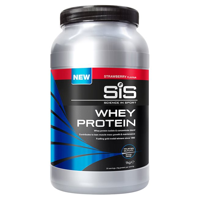 Recoverydrink Whey Protein jordgubb 1kg