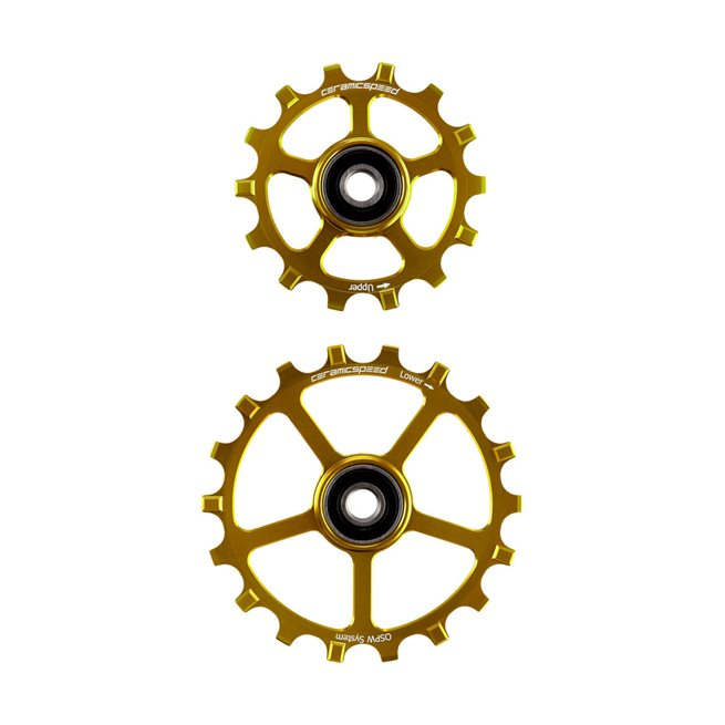 Oversized Pulley Wheels 14/18 tooth (spare)
