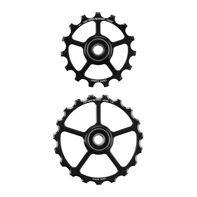 Oversized Pulley Wheels 15/19 tooth (spare) Coated