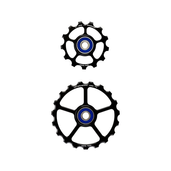 Oversized Pulley Wheels 13/19 tooth (spare) Coated